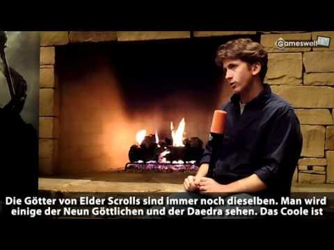 Skyrim interview with Todd Howard (Gameswelt.de)