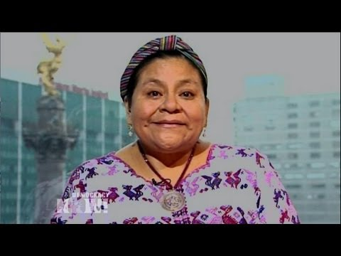Nobel Laureate Rigoberta Mench Hails Genocide Conviction of Ex-Guatemalan Dictator Ros Montt 1/2