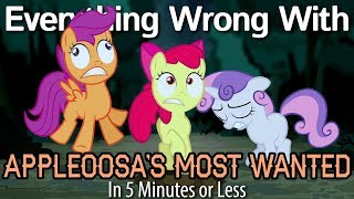 (Parody) Everything Wrong With Appleoosa's Most Wanted in 5 Minutes or Less