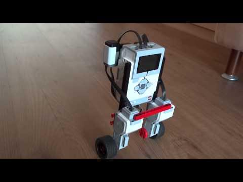 Testing an EV3 balancing robot
