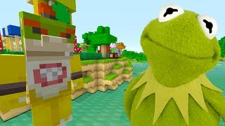 Minecraft Switch - Nintendo Fun House - KERMIT THE FROG IS LOST! [107]
