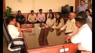 IAS toppers call on CM Sh. Arvind Kejriwal.