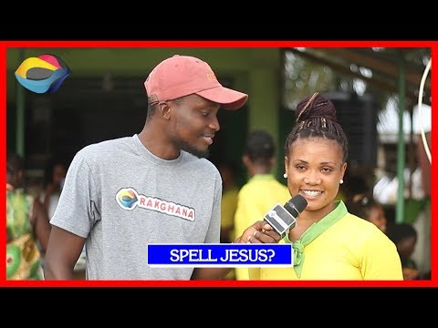 SPELL JESUS   Street Quiz   Funny Videos   Funny African Videos   African Comedy thumbnail