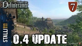 ►Kingdom Come: Deliverance | 0.4 UPDATE INFO - New locations, Combat, Horse riding and stealth