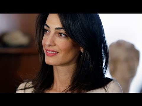 Amal Alamuddin Clooney's legal career in 60 seconds