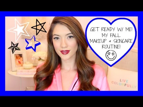 Get Ready W/ Me Fall Makeup & Skincare! | Blair Fowler