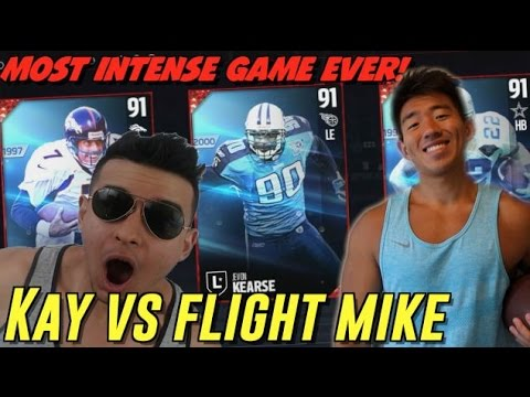 GRITTIEST GAME EVER! KAY VS FLIGHT MIKE! MADDEN 17 DRAFT CHAMPIONS