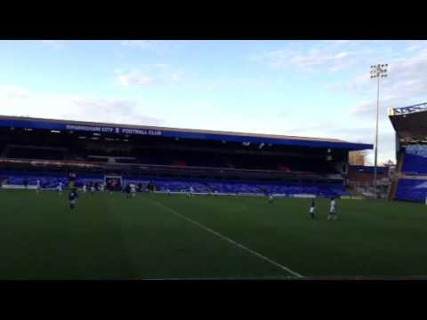 Birmingham City U16 Vs Tottenham Fc at St. Andrews Stadium