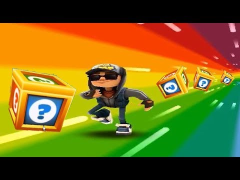 SUBWAY SURFERS GAMEPLAY HD - BARCELONA ✔ JAKE DARK Outfit Play AND MYSTERY BOXES OPENING - TZL Games
