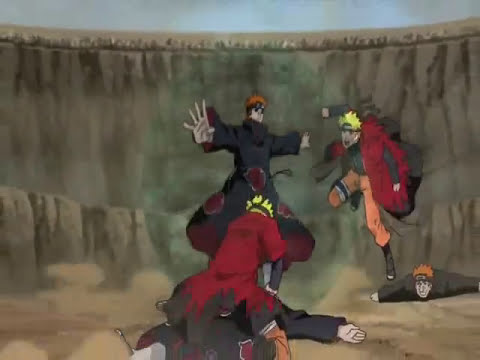 naruto vs pain parte 1