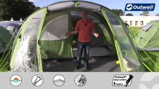 Outwell Cleveland 6P Tent 2013 - C&ingWorld.co.uk & Camping World UK - ViYoutube.com