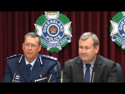 Media Conference - Minister and Acting Commissioner address officer misconduct allegations