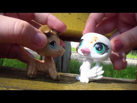 Littlest pet shop ПЕРЕДАЧА НА УЛИЦЕ (#1)
