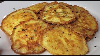 LEFTOVERS   Potato and Cheese Pancakes   Leftovers Recipe Idea