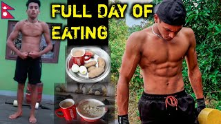 Full day of Eating in Lockdown - Lean Bulking Diet Without Supplements | Anish Fitness