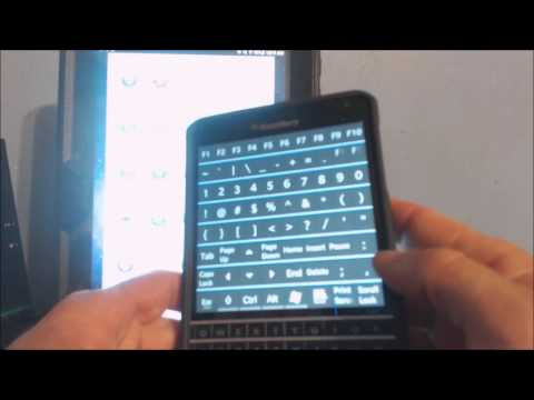 Blue TouchPad app