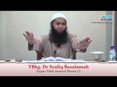 Dr  Syafiq Reza Basalamah - Berdoalah Guna Nama Allah