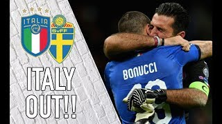 Italy OUT of the World Cup | LIVE Azzurri Reaction from the San Siro