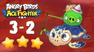 Angry Birds Ace Fighter - Tropical Beach 3-2 [HERO]