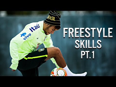 Neymar Jr • Freestyle Skills (Warm Up) • 2014 Pt.1