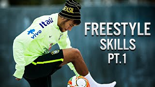 Neymar Jr ● Best Freestyle Skills - 2014 Pt.1 | HD