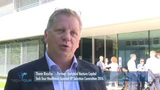 Tech Tour Healthtech Summit 2016 Interview with Thom Rasche, Partner at Earlybird Venture Capital