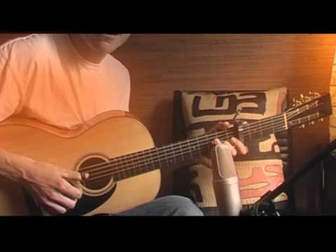 Mbube - The Lion Sleeps Tonight - Wimoweh  Solomon Linda - Fingerstyle Guitar video