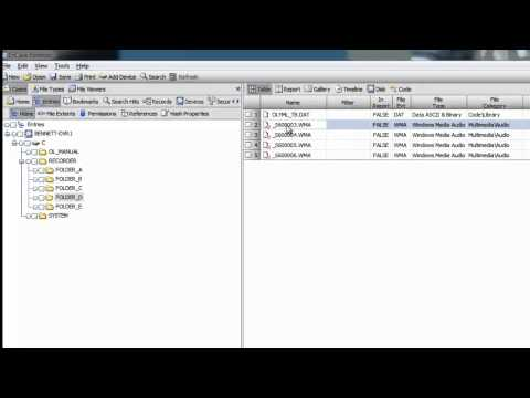 Forensic Data Recovery Quick Demo