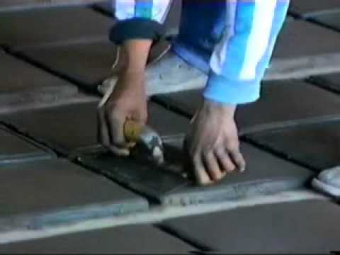 Piso de barro saltillo tile youtube - Piso de barro ...