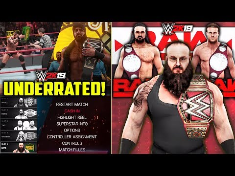 NEW Underrated WWE 2K19 Features! *BIG CHANGES!*