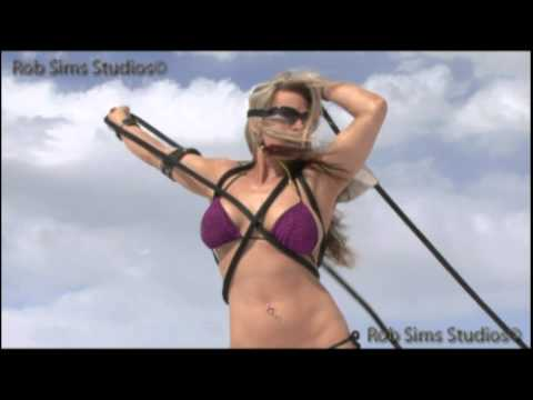 Jade.beautiful Tatooed Fitness Swimsuit  Test Shoot,&amp  Model Portfolio Hd Reel  By Rob Sims