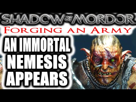 Middle Earth: Shadow Of Mordor: Forging An Army - An Immortal Nemesis Arrives video