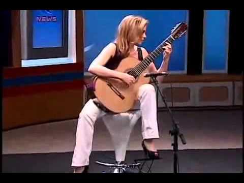 Guitare Classique  - Ana Vidovic -  Recuerdos De La Alhambra -  Francesco Tarrega  -