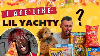 I tried Lil Yachty's TERRIBLE DIET (MOST UNHEALTHY FOODS IN THE WORLD)