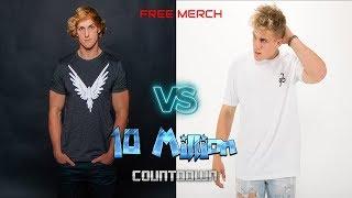LOGAN PAUL VS JAKE PAUL 10 MIL SUB COUNTDOWN Jake Paul - YouTube Stars Diss Track Third Verse
