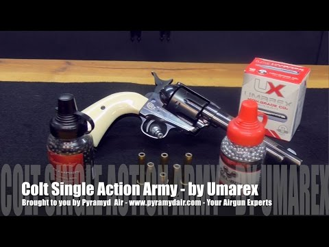 Colt Single Action Army - Amazing Airgun Replica from Umarex USA