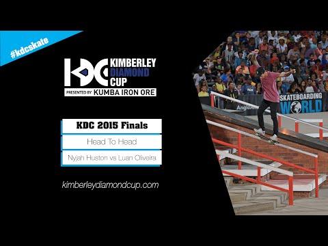 KDC 2015 Street Finals: Nyjah Huston vs Luan Oliveira