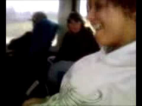 Girl Makes Boobs Move On Greyhound Bus.3gp video