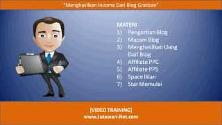 download lagu Menghasilkan Uang Dari Blog  Jutawan-net gratis