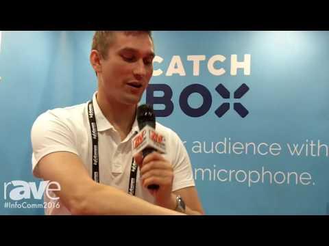 InfoComm 2016: Catchbox Explains Catchbox Pro Throwable Microphone