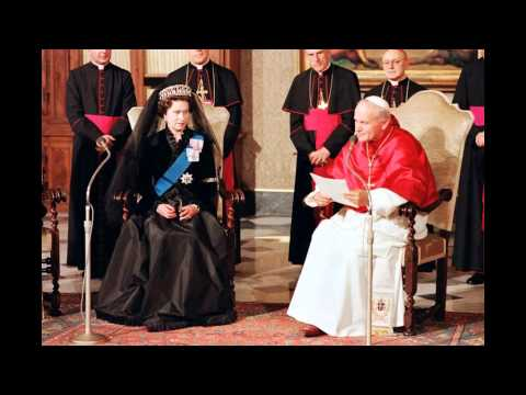 queen elizabeth ii meet the popes