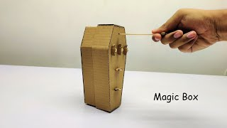 How to Make Magical Box From Cardboard | Amazing DIY