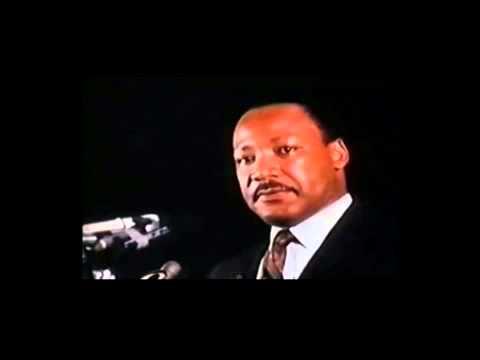 Dr Martin Luther King Jr - Mountaintop Speech Part 1 video