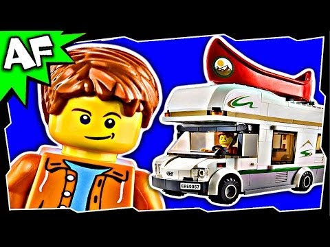 CAMPER VAN 60057 Lego City Great Vehicles Animated Building Set Review