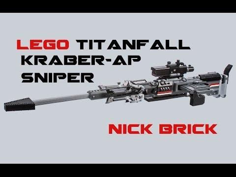 LEGO Titanfall Kraber-AP Sniper Rifle Life Size