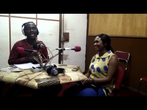 Danel and Morgan performing live at Frequence vie radio (Abidjan)