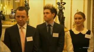 Niall Horan 1D Meets The Queen (March 2014) HD