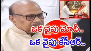 Yanamala Ramakrishnudu Holds TDP Manifesto Committee Meeting | Press Meet