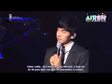 [engsub] 2014.03.25 Lee Seung Gi lee Sun Hee's Showcase - To J + Ment video