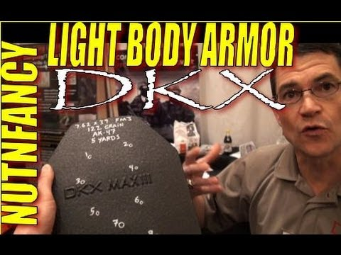 Civilian Body Armor: 18 oz That Could Save Your Ass